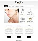 Jewelry Moto CMS HTML  Template 48057