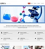 Science Moto CMS HTML  Template 48058