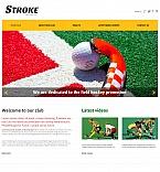 Sport Moto CMS HTML  Template 48063