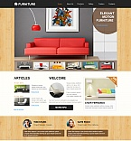Furniture Moto CMS HTML  Template 48064