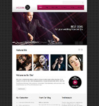 Personal Page Drupal  Template 48072