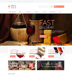 Food & Drink OpenCart  Template 48076