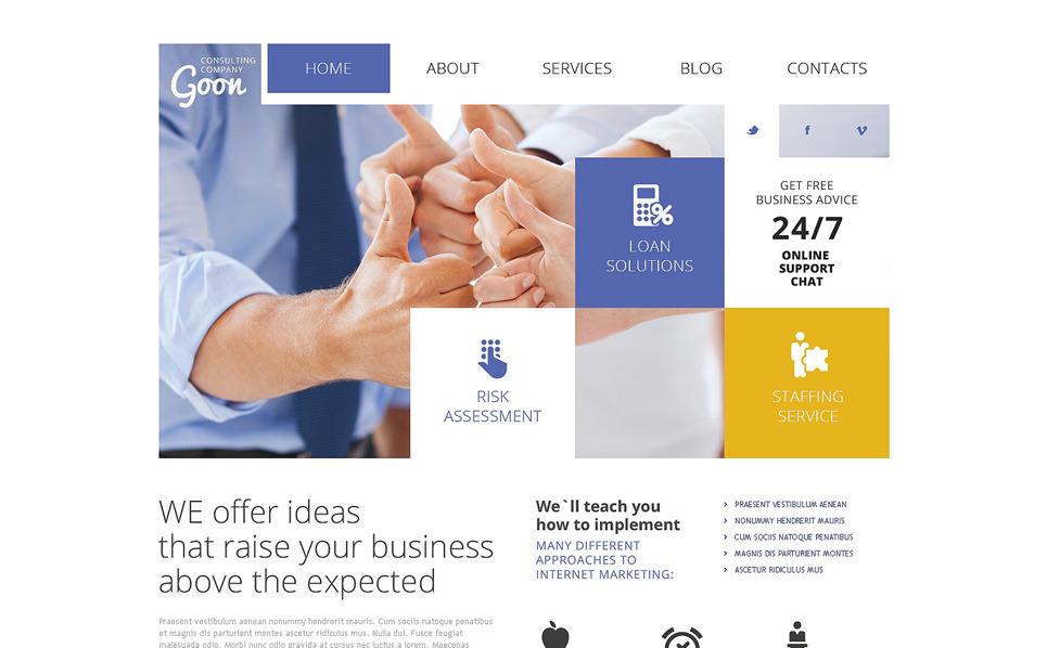 Responsive Joomla Template over Raadpleging  New Screenshots BIG