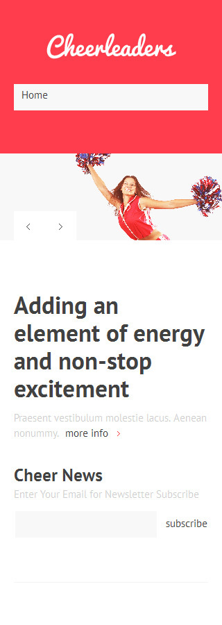 Joomla Theme/Template 48082 Main Page Screenshot