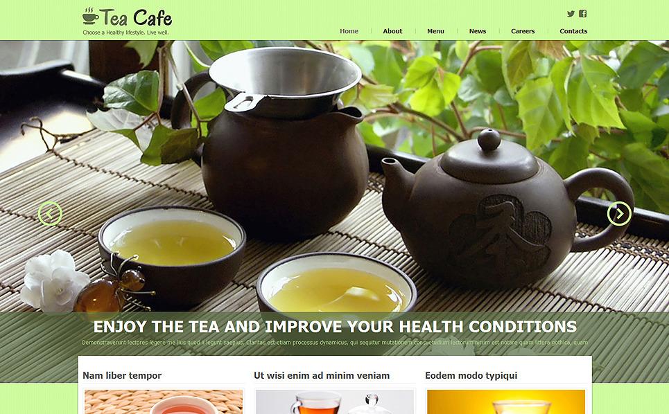 Responsywny szablon Joomla #48083 na temat: sklep z herbatą New Screenshots BIG