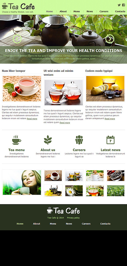 Joomla Theme/Template 48083 Main Page Screenshot