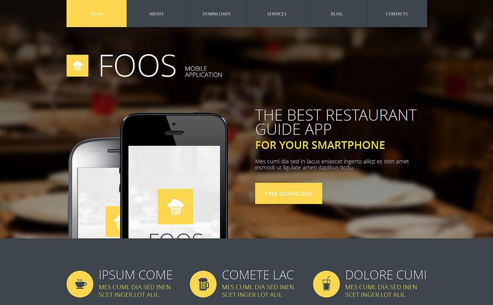 Reszponzív Webfejlesztés Joomla sablon New Screenshots BIG