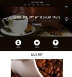 Cafe & Restaurant Joomla  Template 48085