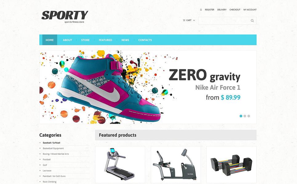 Responzivní WooCommerce motiv na téma Fitness New Screenshots BIG