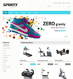 Sport WooCommerce Template 48094