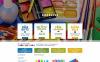 Адаптивний Magento шаблон на тему канцелярія New Screenshots BIG