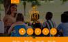 Адаптивний Шаблон сайту на тему літній табір New Screenshots BIG