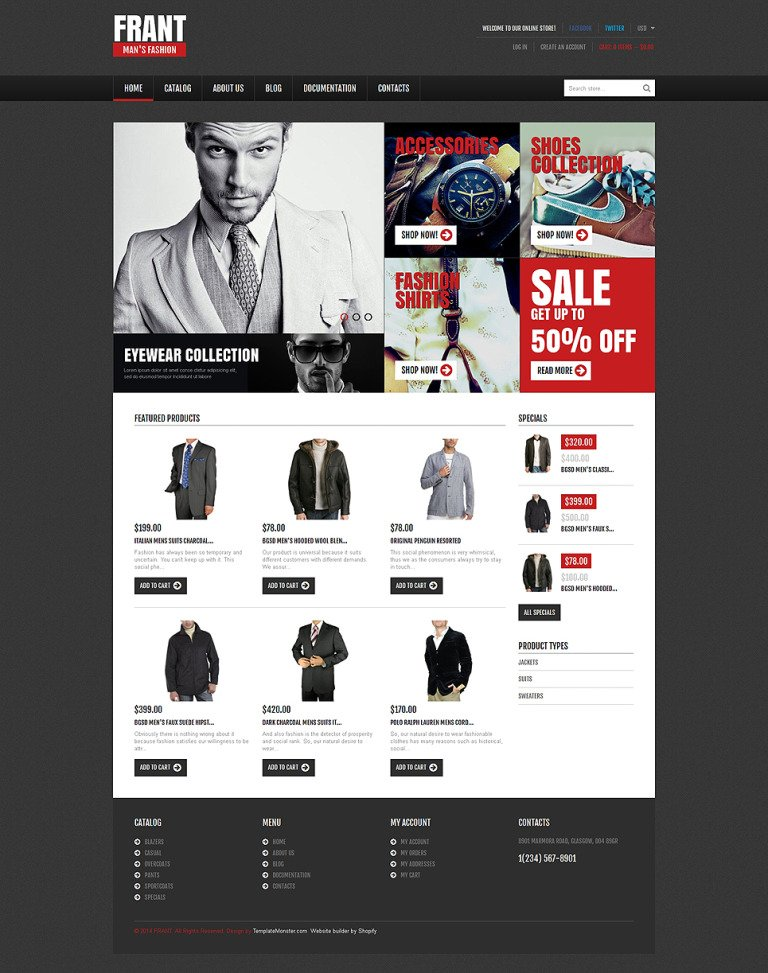 Apparel Responsive Shopify Theme New Screenshots BIG