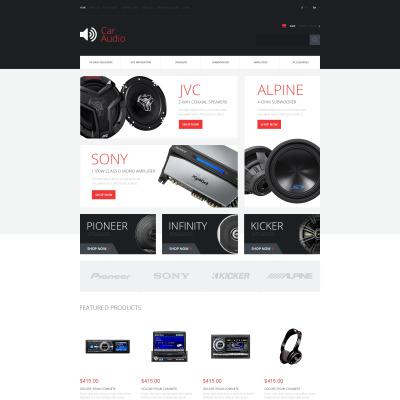 Car Audio OpenCart Theme