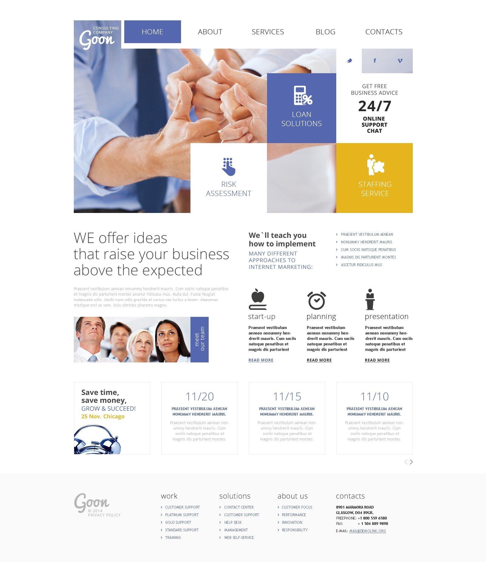 Consulting Agency Joomla Template