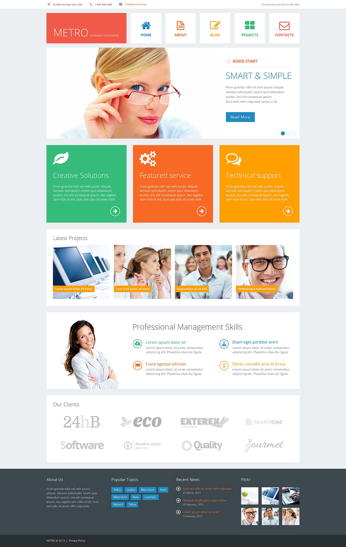 Financial advisor responsive joomla template 48080 flashek Choice Image