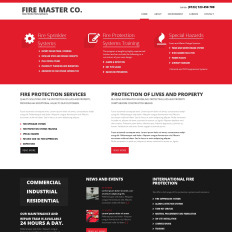 Fire Department Bootstrap Website Template