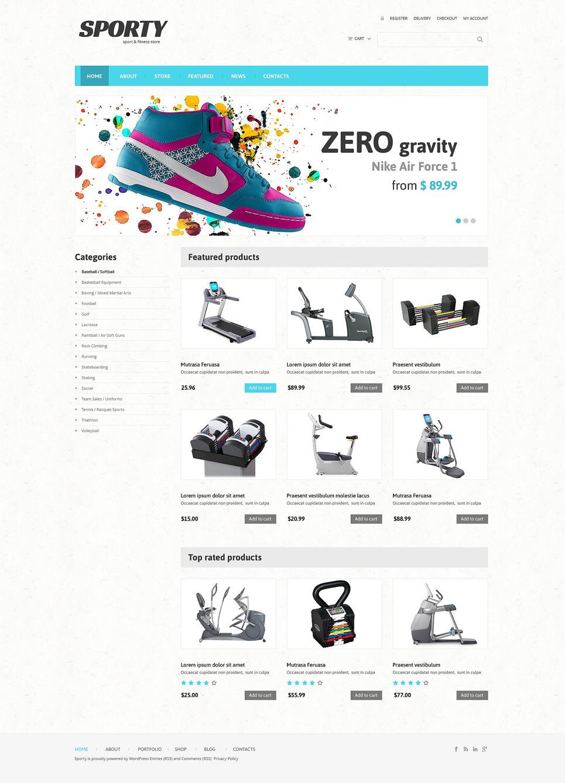 Fitness Responsive WooCommerce Theme New Screenshots BIG