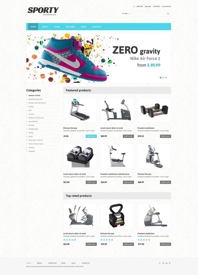 Fitness Responsive WooCommerce Theme New Screenshots BIG