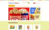 "Modello PrestaShop Responsive #48029 ""Salt  Sweet Popcorn"" New Screenshots BIG"