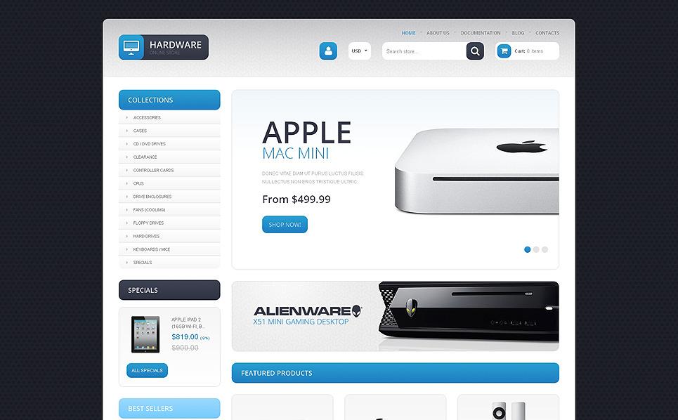 Modello Shopify Responsive #48026 per Un Sito di Negozio di Computer New Screenshots BIG