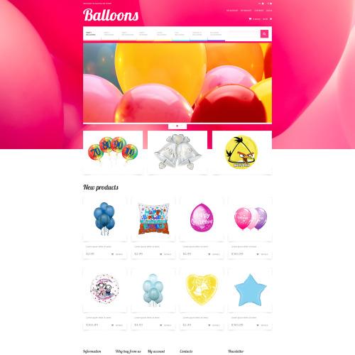 Balloons - Responsive Magento Template