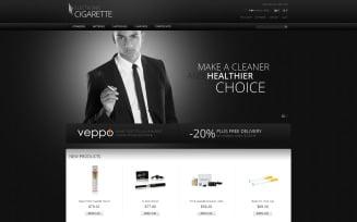 Tobacco Responsive Magento Theme
