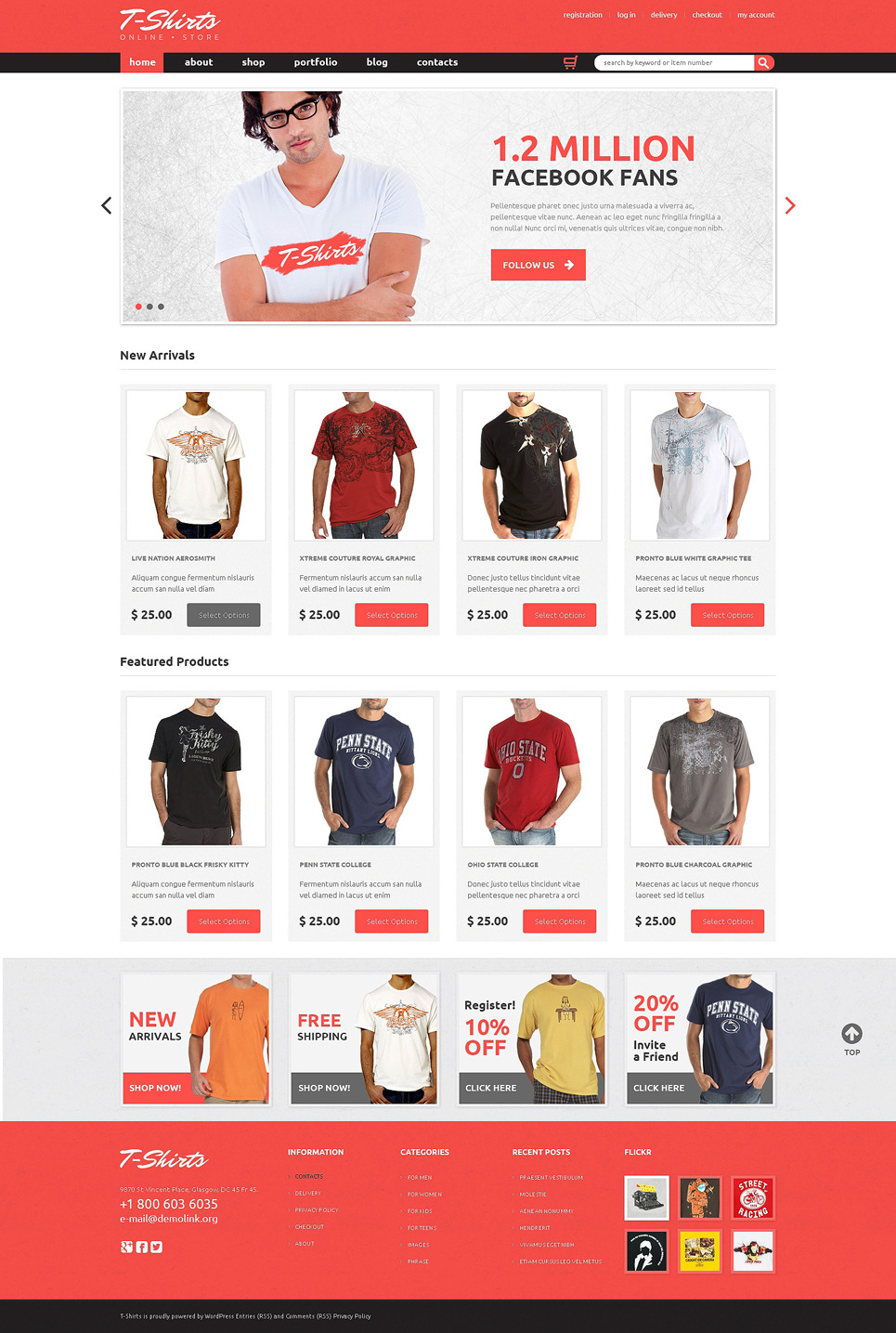 TShirts That Fit WooCommerce Theme New Screenshots BIG