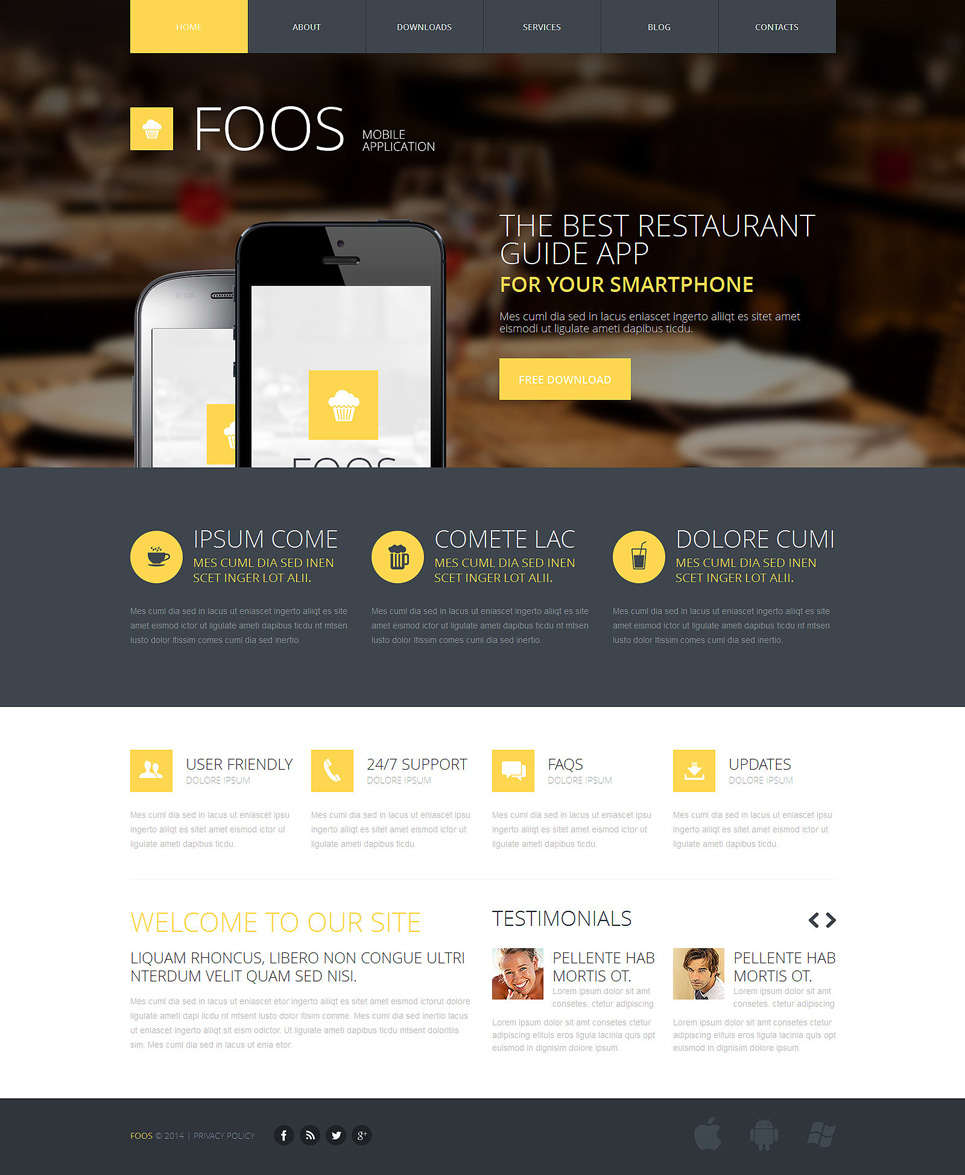 Web Development Responsive Joomla Template  48084