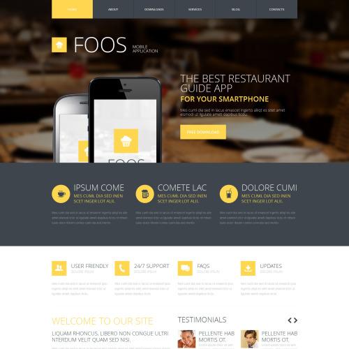 Foos - Joomla! Template based on Bootstrap