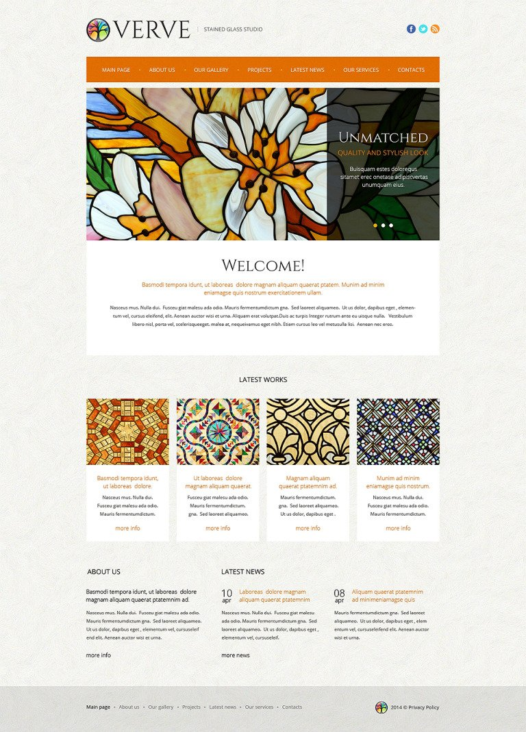 Window Decor Responsive Website Template New Screenshots BIG