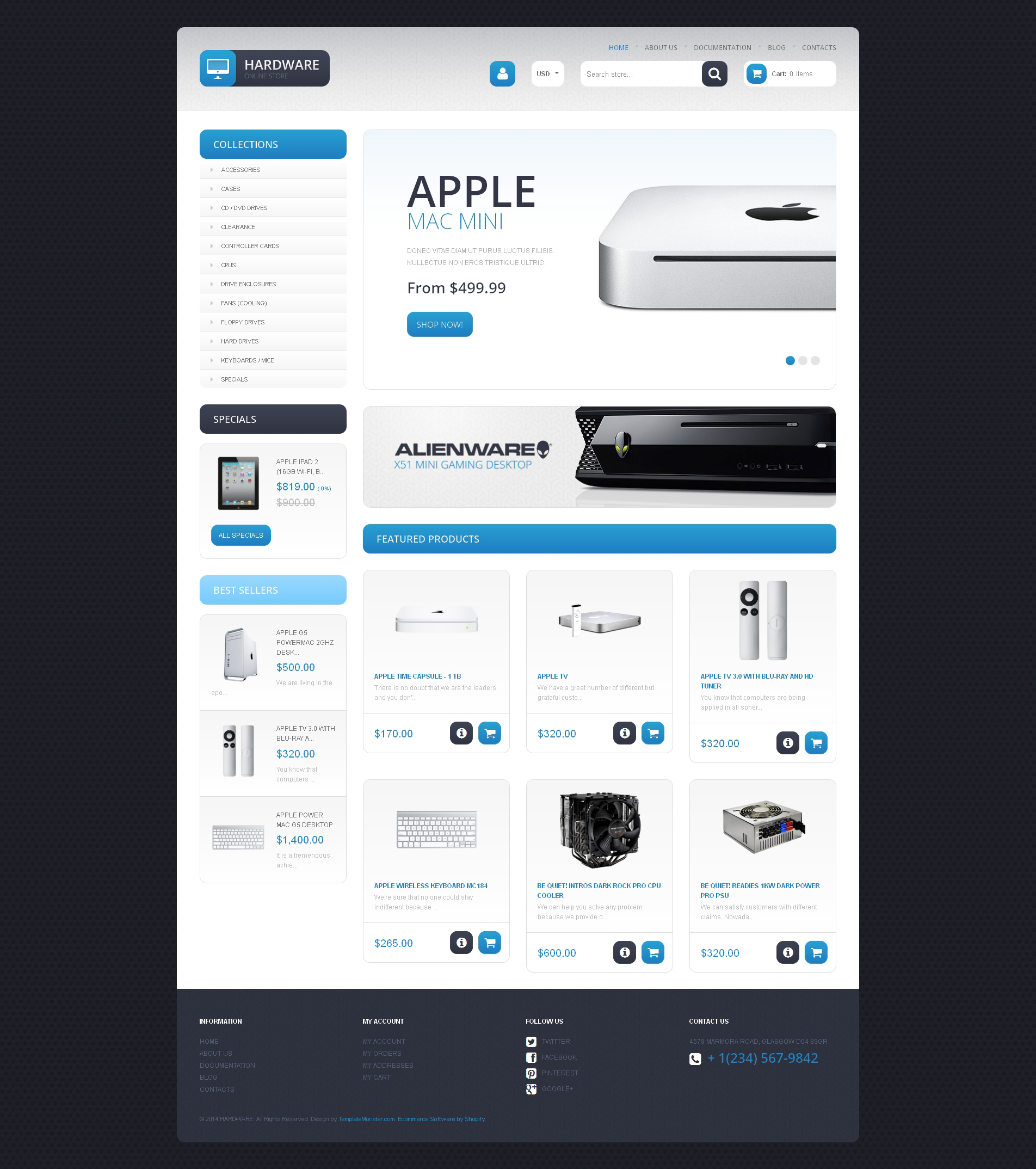 响应式Shopify模板 #48026