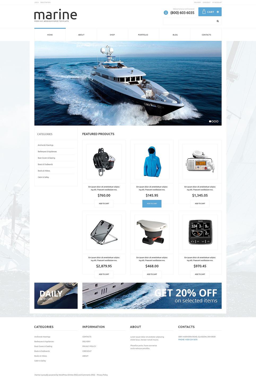 Yachting Responsive WooCommerce Theme New Screenshots BIG