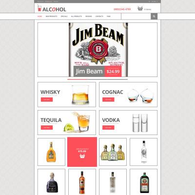 Food & Drink ZenCart Template