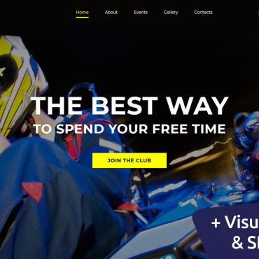 Template 115077 MotoCMS Website