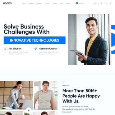Website Template 90647