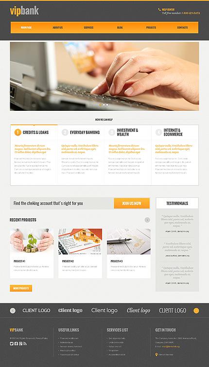 WordPress Theme/Template 48102 Main Page Screenshot