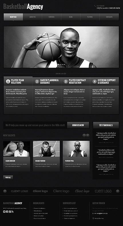 WordPress Theme/Template 48105 Main Page Screenshot