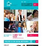 Society and Culture Website  Template 48108
