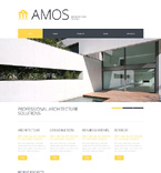 Architecture Website  Template 48114