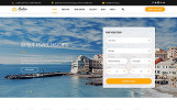 Responsivt Sealine Travel Agency Multipage HTML Hemsidemall