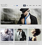 Fashion Flash CMS  Template 48119