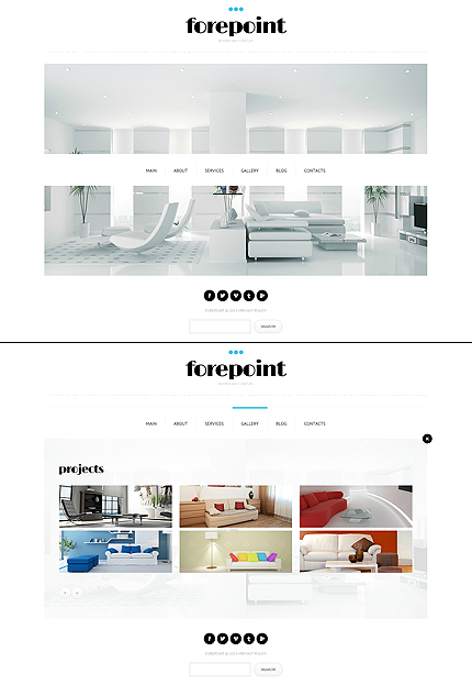 ADOBE Photoshop Template 48120 Home Page Screenshot