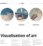Architecture Flash CMS  Template 48128