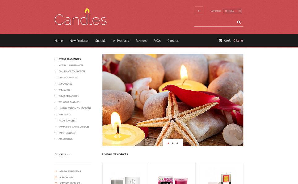 Thème Zen Cart  pour boutique de cadeaux New Screenshots BIG