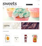 Food & Drink ZenCart  Template 48137