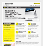 Computers Website  Template 48138