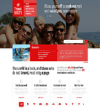 Travel Website  Template 48142