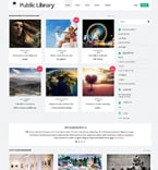Books Website  Template 48144
