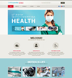 Medical Website  Template 48146